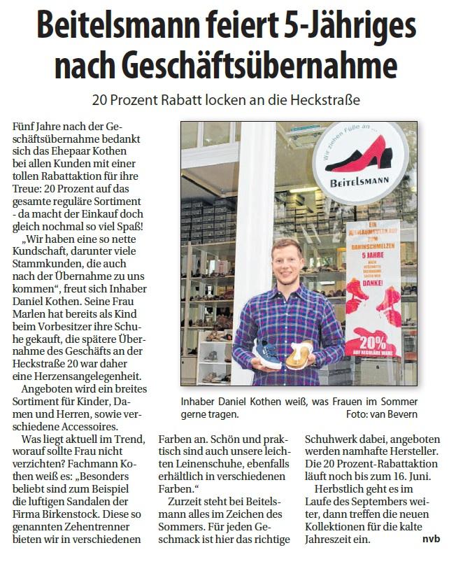Artikel aus dem Lokalkompass Essen Werden, 09.06.2018