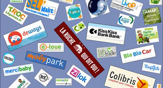 consommation collaborative, location, troc, echanges, recyclage - via energetica agenda du bien-etre en touraine