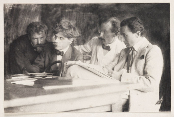 Frank Eugene: Piktorialisten Eugene, Alfred Stieglitz, Heinrich Kühn, Edward Steichen, 1907