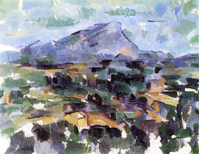 Paul Cézanne: Mont Sainte-Victoire, 1904-1906