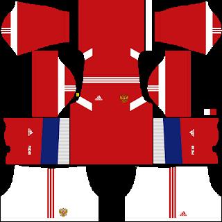 Russia 2018 - dlskit - Dream League Soccer Kit 2018 | Dream League