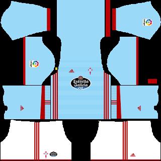 b855797dec7 Celta Vigo 2017 2018 - dlskit - Dream League Soccer Kit 2018