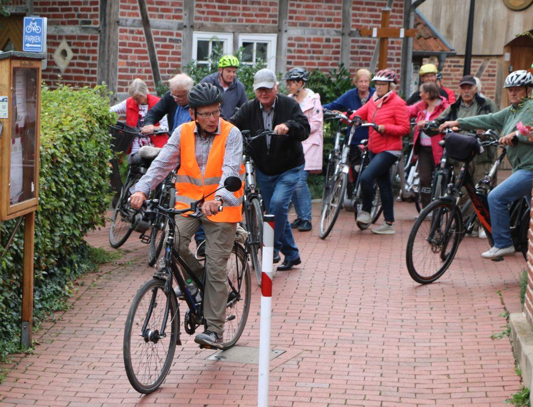 Zäsur für die Fahrradtouren im Heimatverein