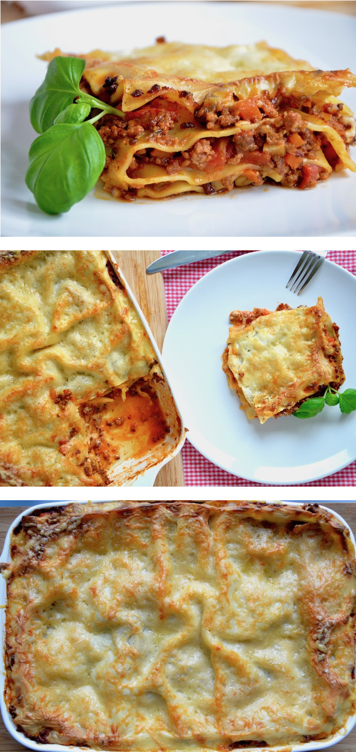 Lasagne Bolognese Rezept, so macht kochen Spaß!