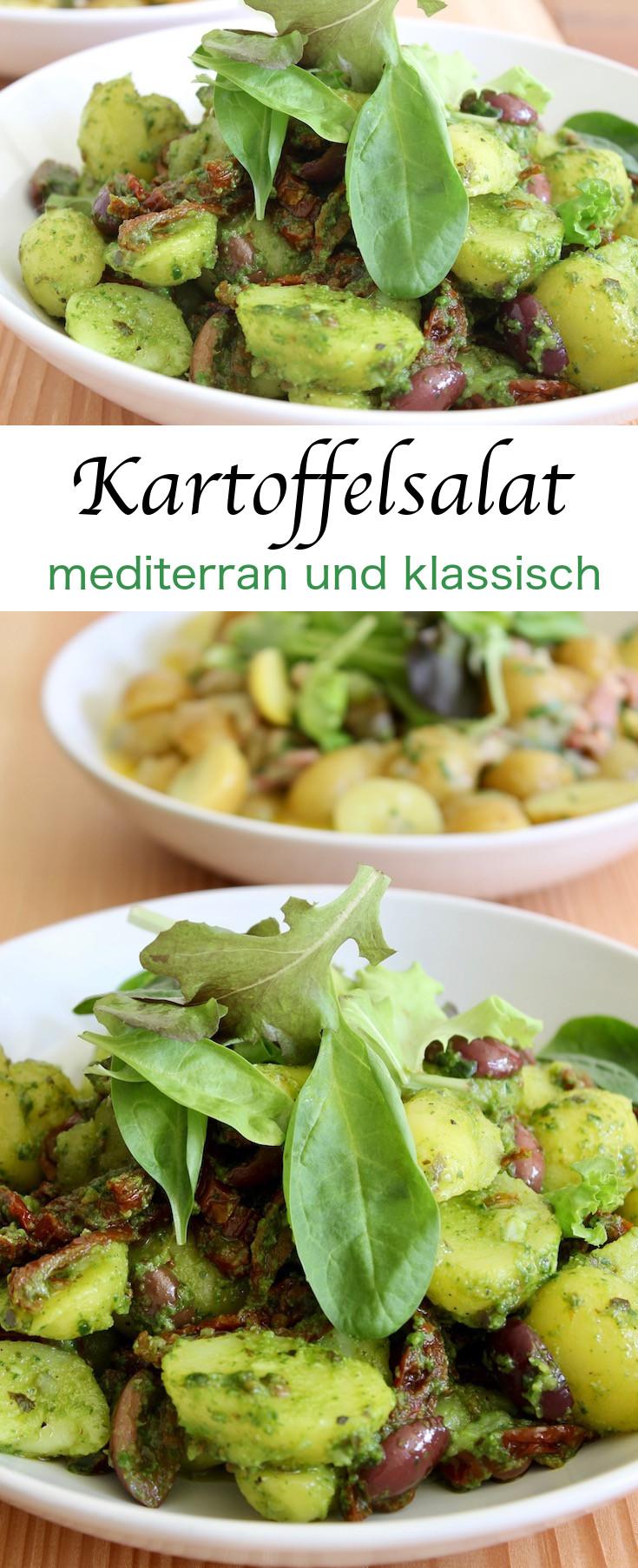 Kartoffelsalat - die perfekte Beilage zum Grillen