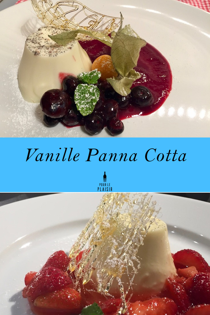 Leckeres Vanille Panna Cotta Rezept