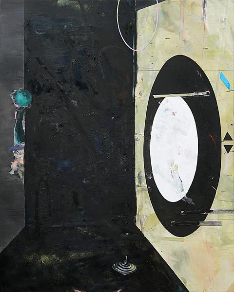 Martin Mohr  Die Alltäglichkeit des Seins  Acryl, Lack und Öl auf Baumwolle  200 x 160 cm