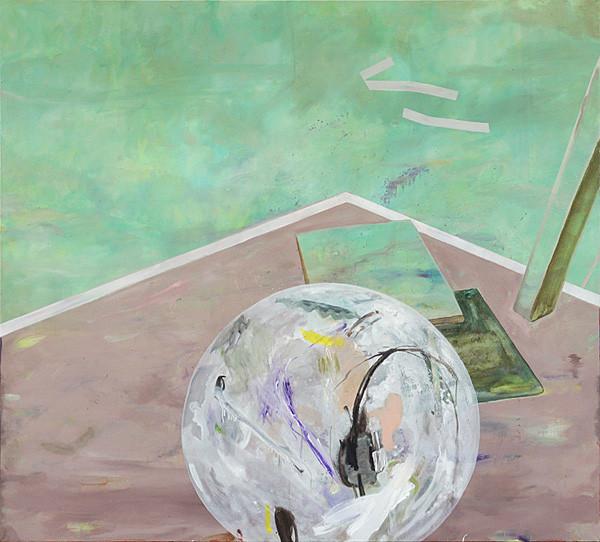Martin Mohr  Nullzeit  Acryl, Lack und Öl auf Baumwolle   180 x 200 cm