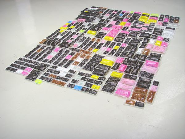 Martin Mohr  Oase  Acryl und Lack auf PE-HD   240 x 190 cm