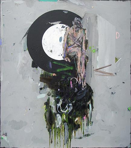 Martin Mohr  Venus  Acryl, Lack und Öl auf Baumwolle   170 x 150 cm