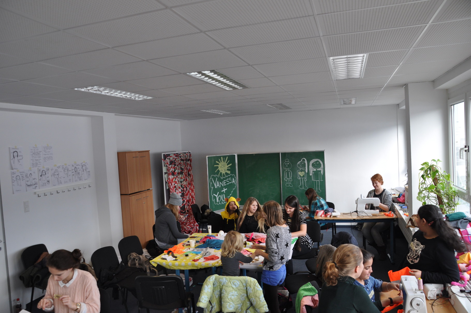 2. Tag Radical Crafting Workshop (Foto: Verein VIELE)