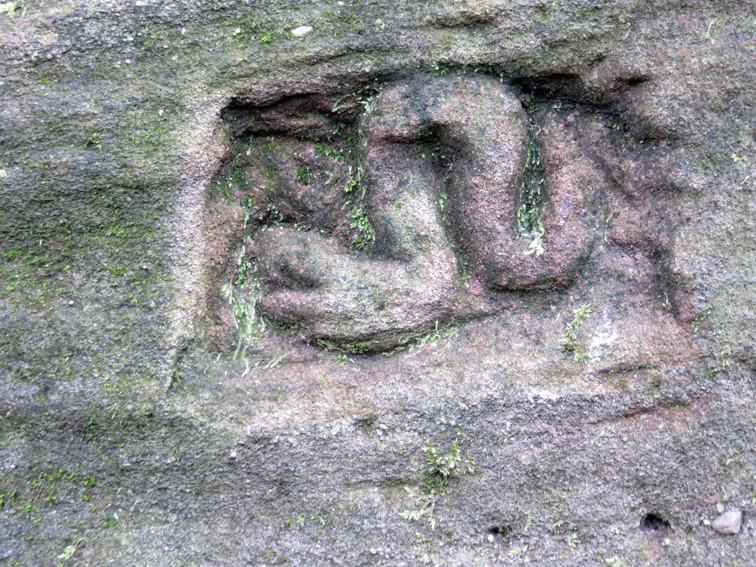 Signature du passage d'une artère tellurique dans un haut lieu (massif Vosgien)