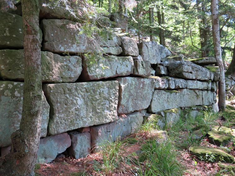 Mur païen du Franckenbourg (Haut-Rhin)