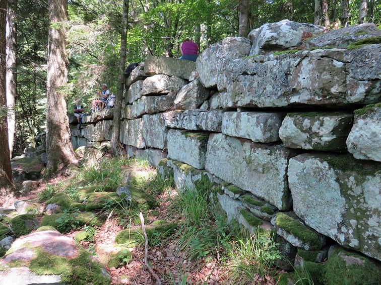 Mur païen du Franckenbourg (Haut-Rhin