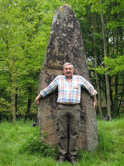 Menhir de Raon l'étape (Vosges)