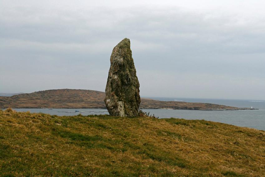 Menhir de la côte ouest Irlandaise