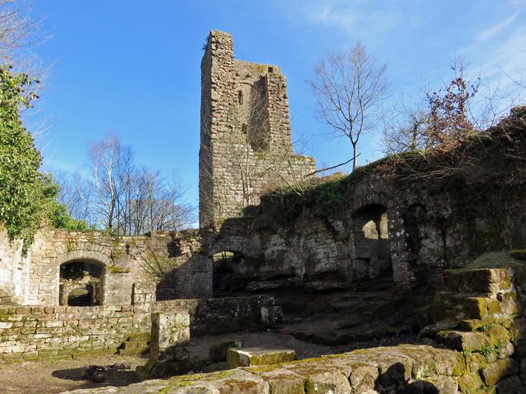 Château fort du Grand Geroldseck (Bas-Rhin)