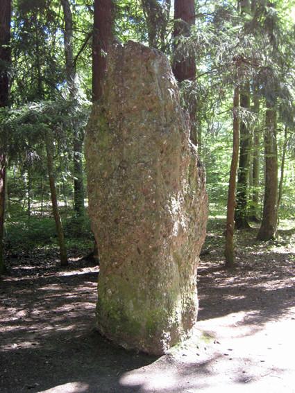 Menhir du Langenstein (Haut-Rhin)