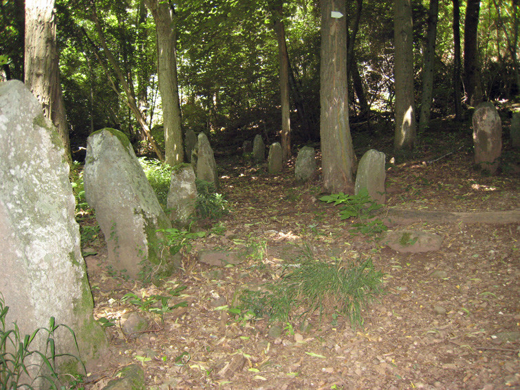 menhirs de L'Appenthal (Haut-Rhin)