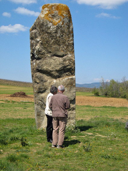 Menhir de Malves( Aude)