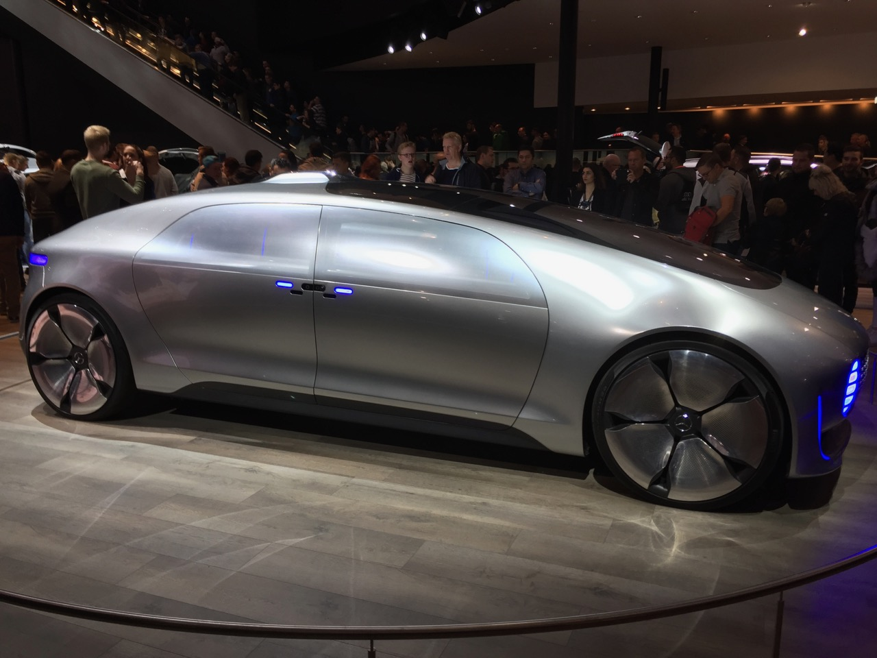 Mercedes Vision F-015