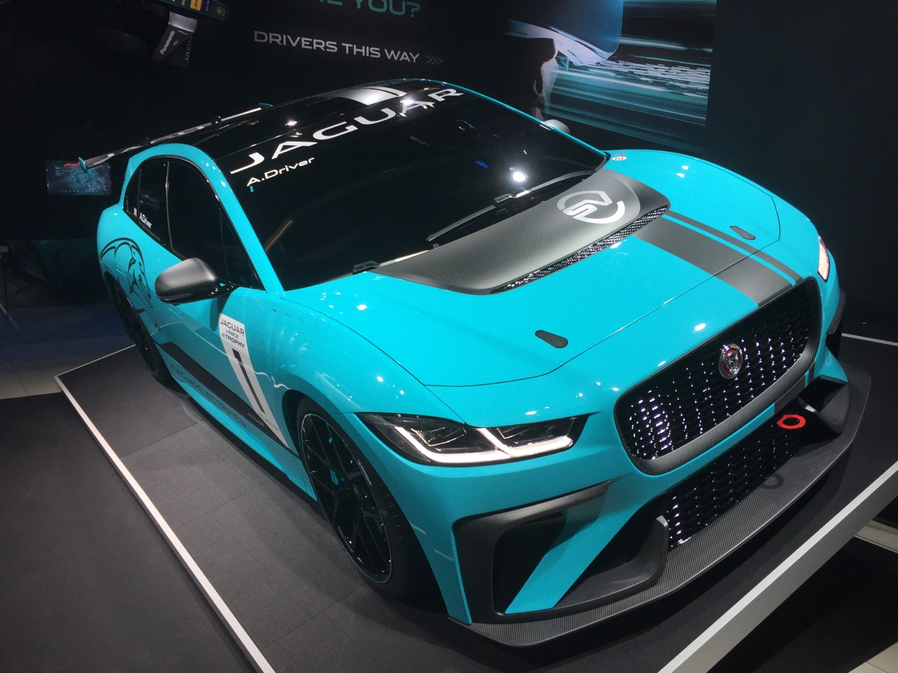 Jaguar i-Pace race