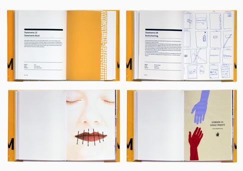 Buchgestaltung für eine Projektarbeit // Innenseiten