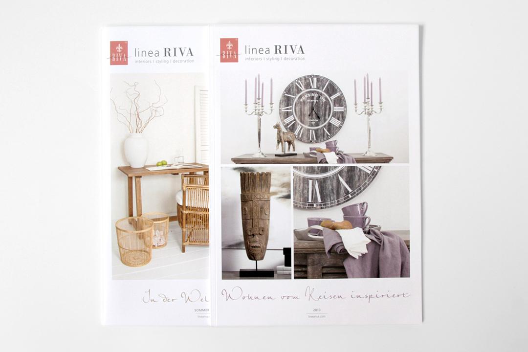 Katalog-Gestaltung für Möbel und Wohnaccessoires // Cover