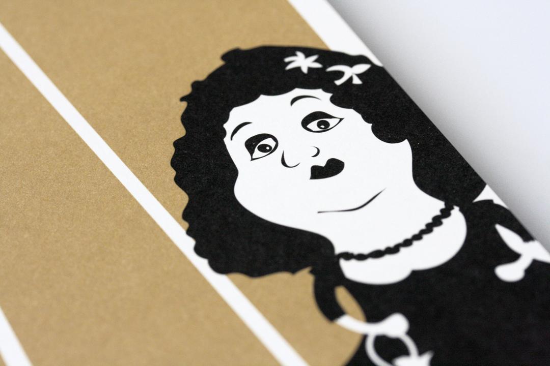 Gestaltung eines Imageflyers für ein Theater // Illustration