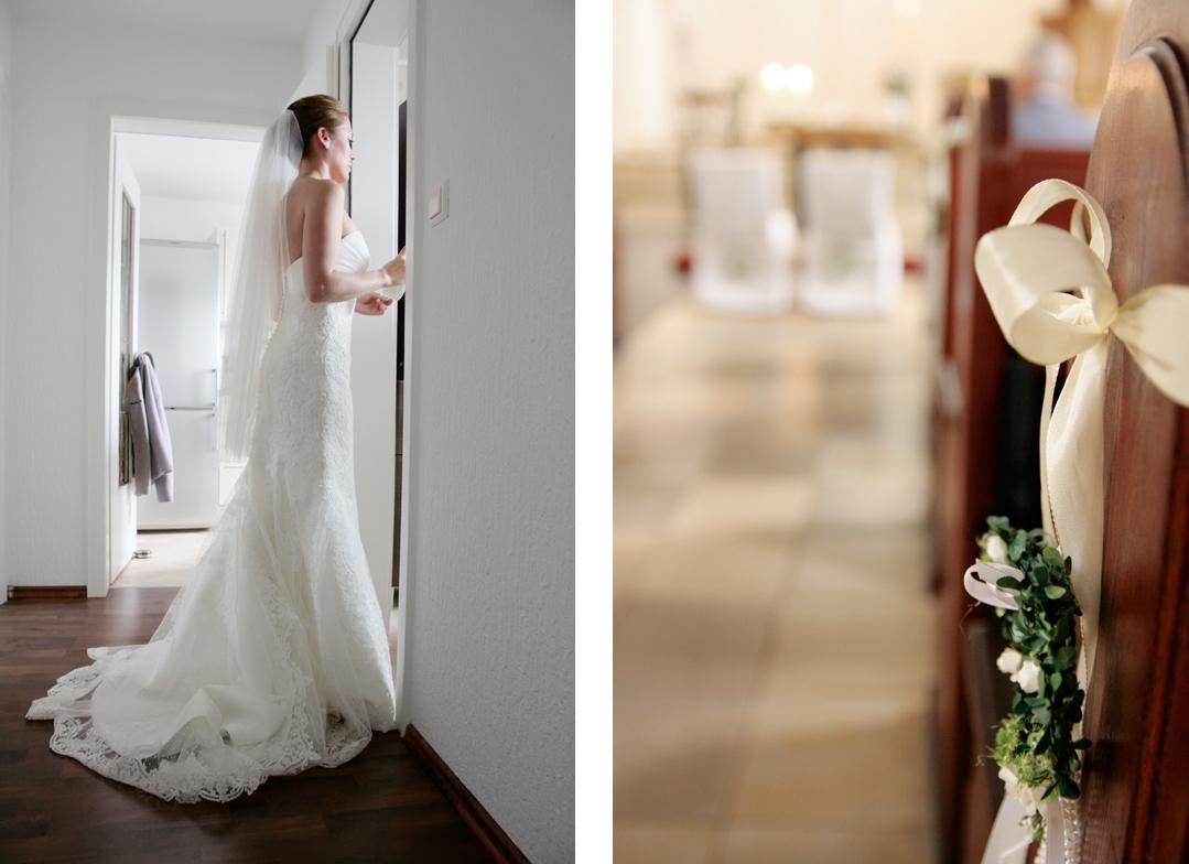 Hochzeitsfotos // Vorbereitung der Braut