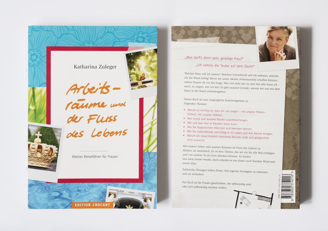 Buchgestaltung // Cover und Rückseite