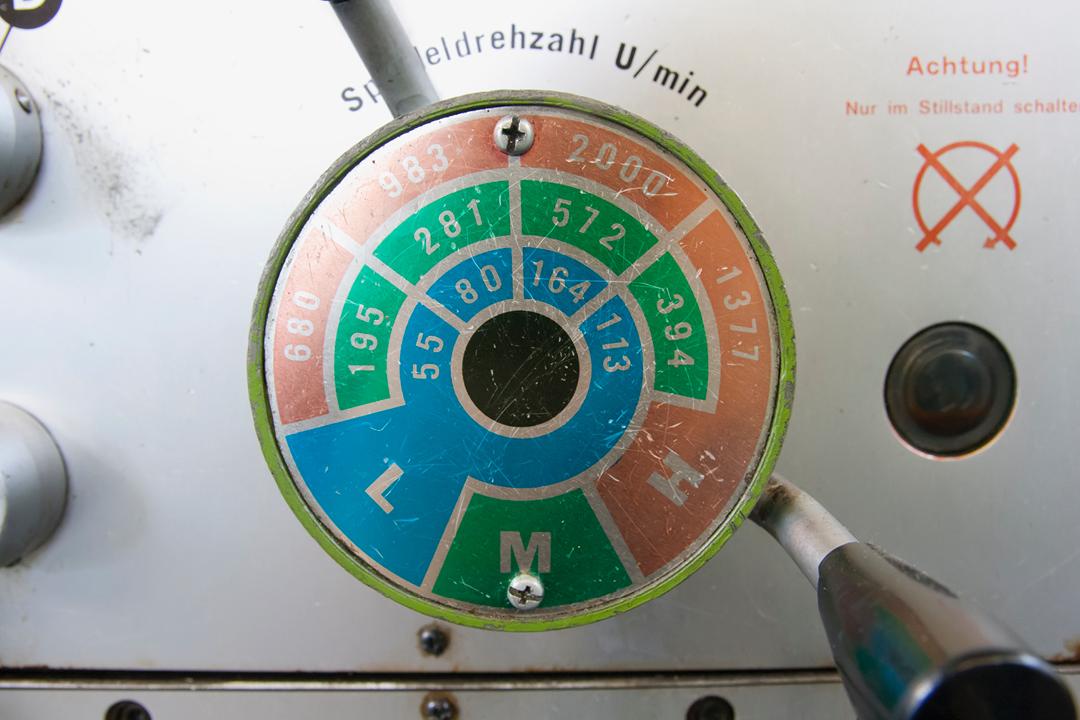 Fotos einer Firmen-Reportage // Detail einer Maschine