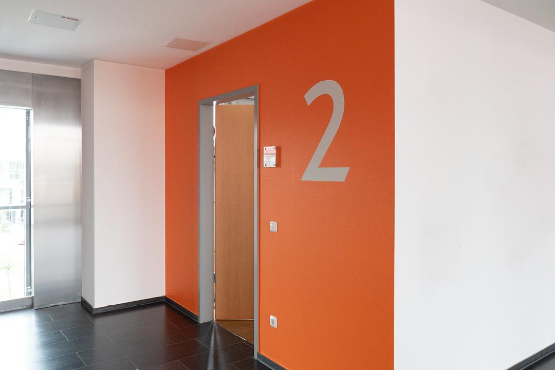 KYOCERA Office-Design // Ansicht Flur 2. Etage