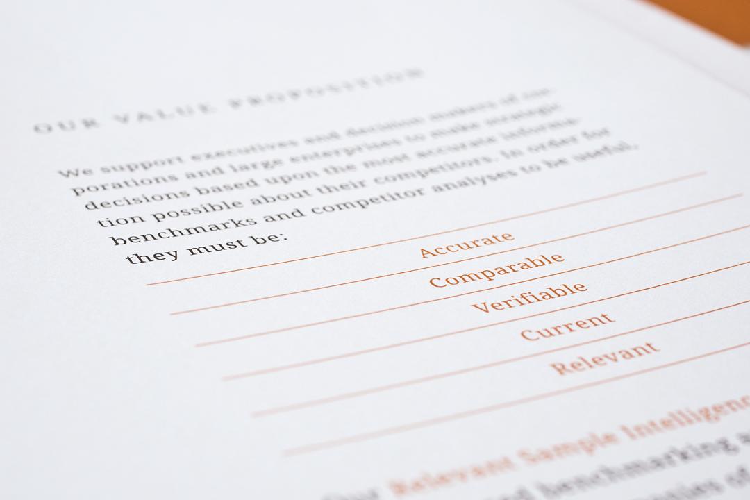 Corporate Design mit Logo und Geschäftsausstattung für ein Consulting Unternehmen // Detail