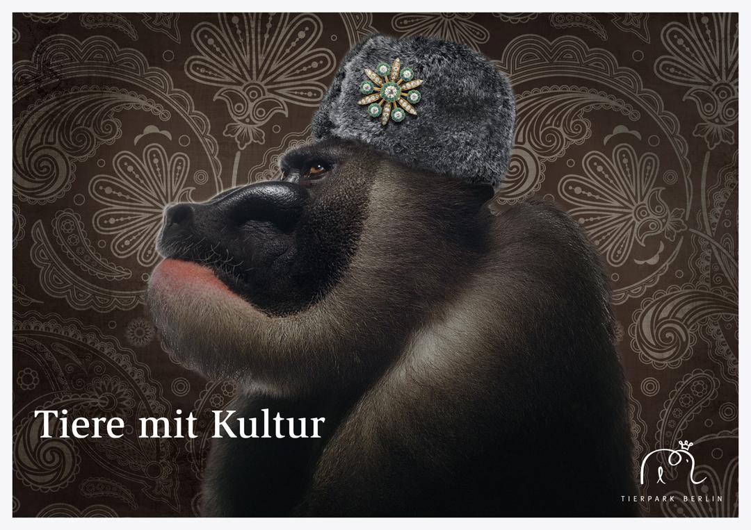 Corporate Design mit Logo, Geschäftsausstattung und Plakaten für einen Zoo // Plakat 1