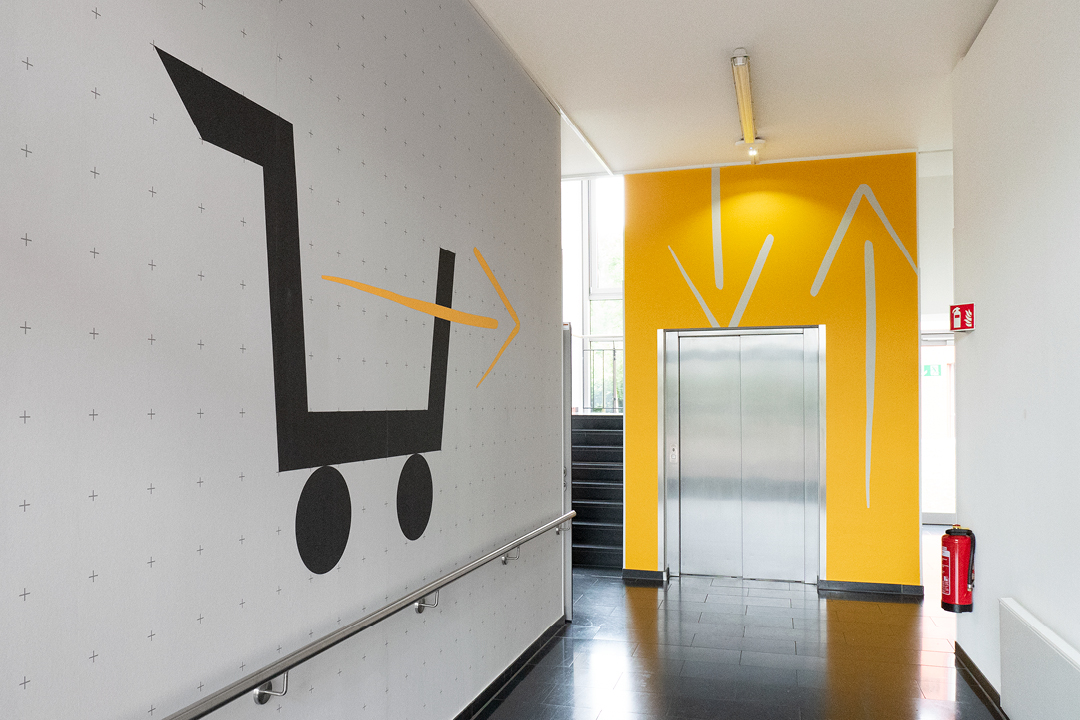KYOCERA Office-Design // Ansicht Lieferanteneingang