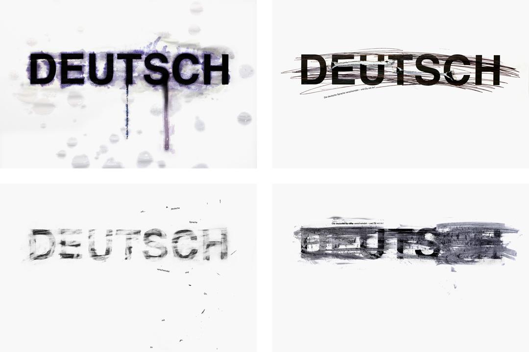 Plakate für die deutsche Sprache // alle Motive