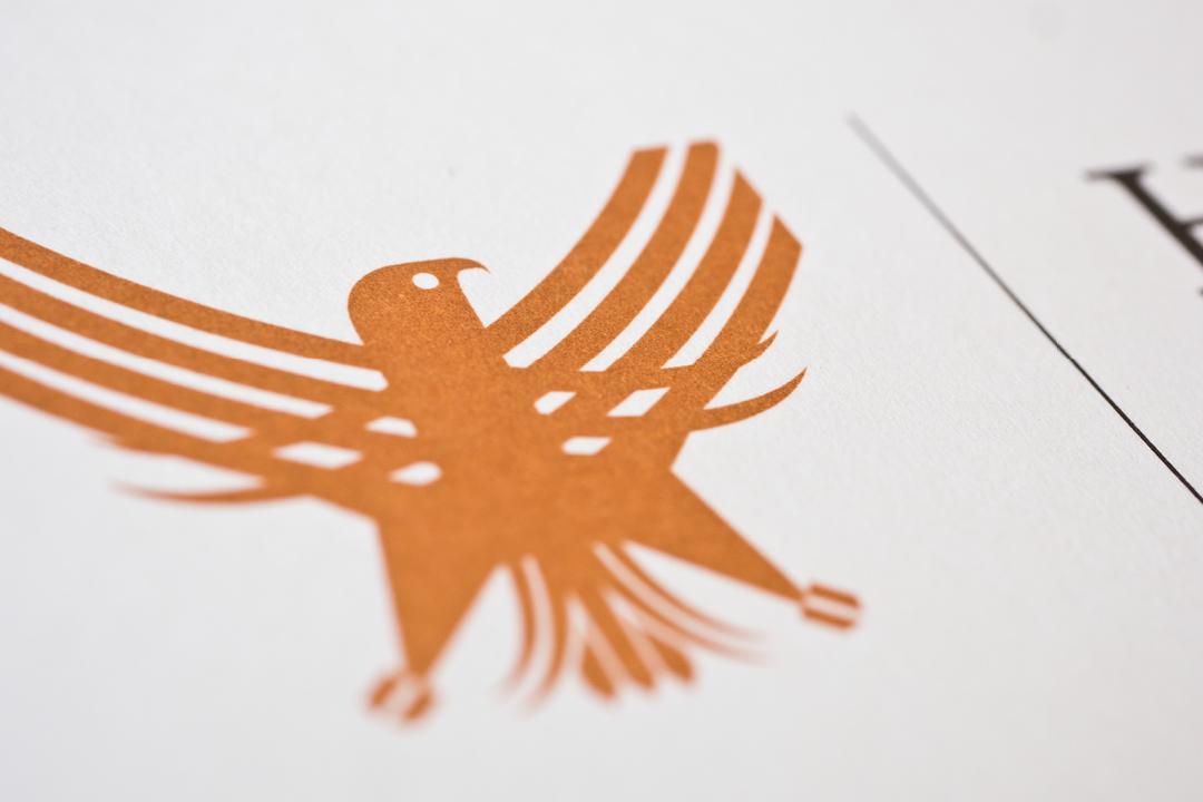 Corporate Design mit Logo und Geschäftsausstattung für ein Consulting Unternehmen // Detail des Logos