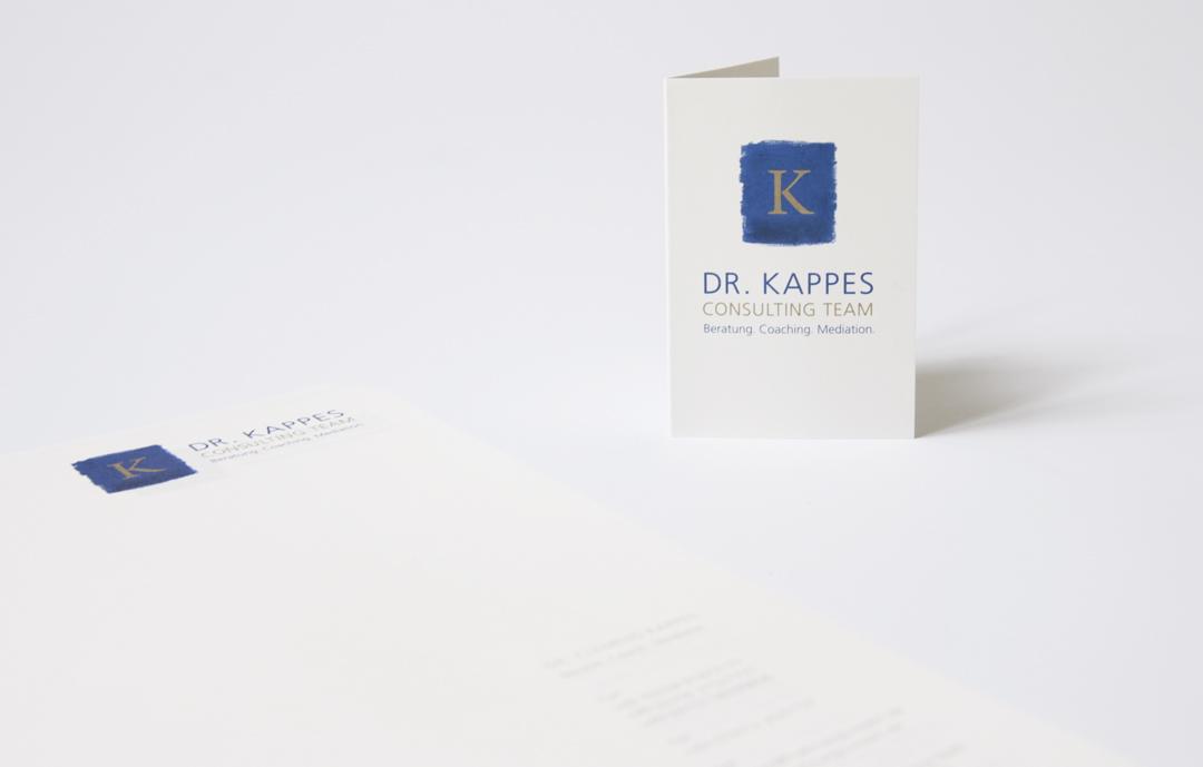 Logo-Design und Geschäftsausstattung für ein Consulting-Unternehmen // Visitenkarte und Briefbogen