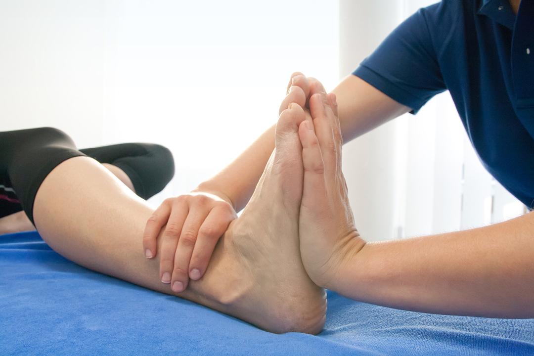 Fotos einer Praxis (Arzt / Physiotherapie) // Behandlung
