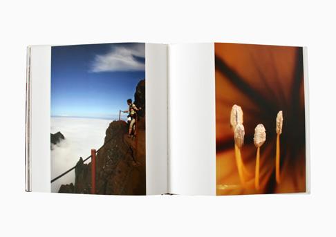 Gestaltung eines Bildbands // Innenseite