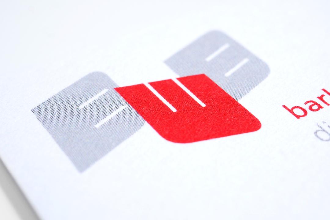 Geschäftsausstattung für eine Buchhalterin, Logo im Detail