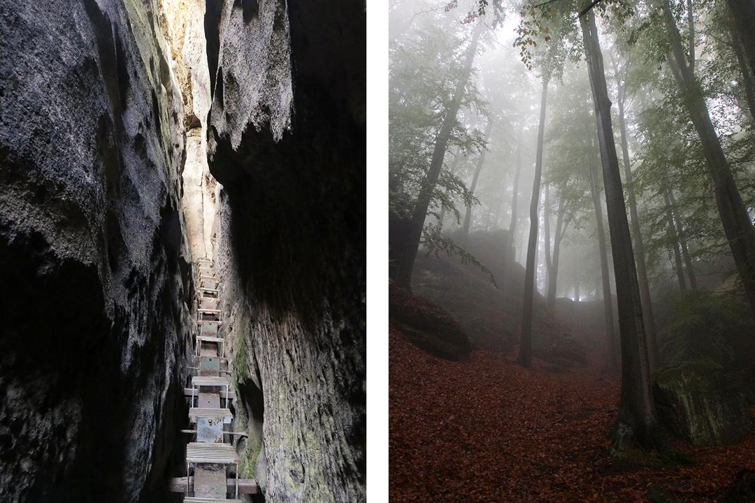 Foto-Dokumentation über die Sächsische Schweiz