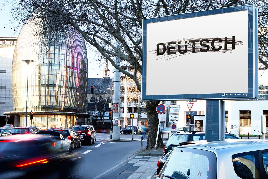 Plakate für die deutsche Sprache // Motiv 2