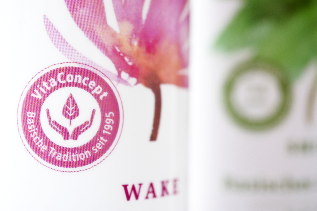 Verpackungsdesign für pflanzliche Kosmetik // Detail