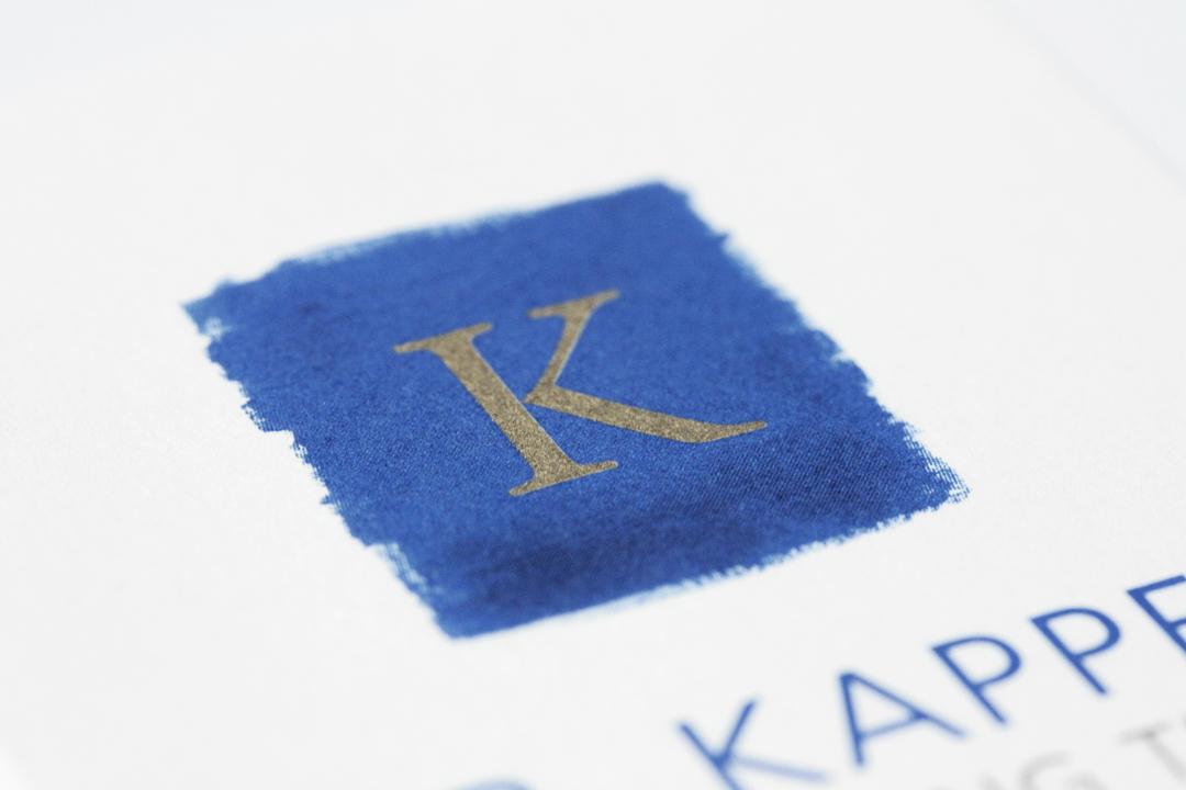 Logo-Design und Geschäftsausstattung für ein Consulting-Unternehmen // Detail des Logos