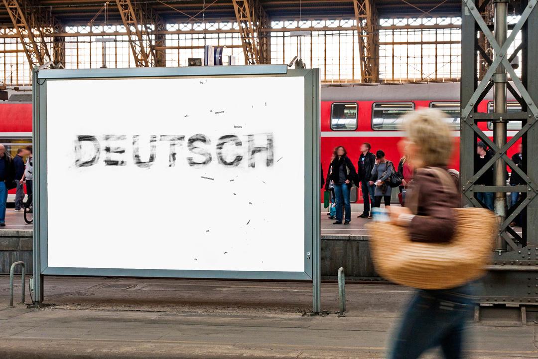 Plakate für die deutsche Sprache // Motiv 4