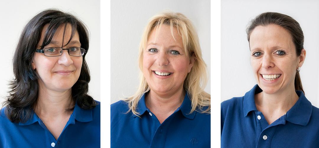 Fotos einer Praxis (Arzt / Physiotherapie) // Porträts der Mitarbeiter