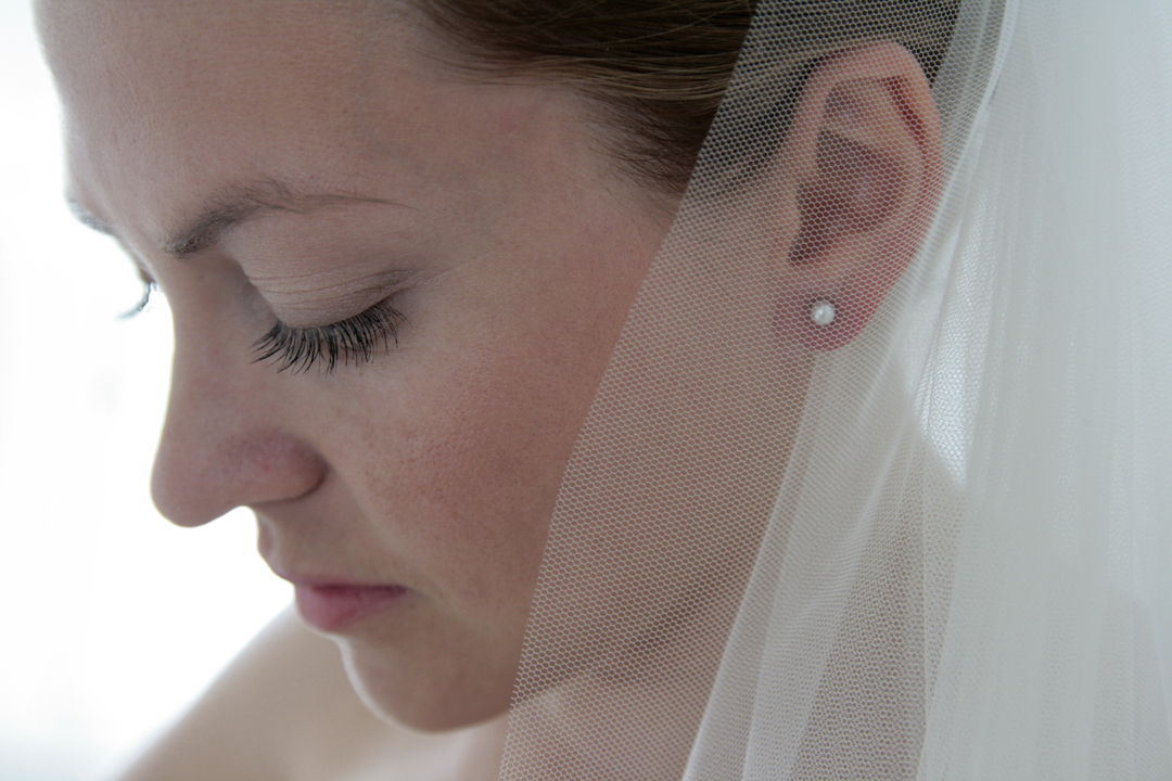 Hochzeitsfotos // Porträt der Braut