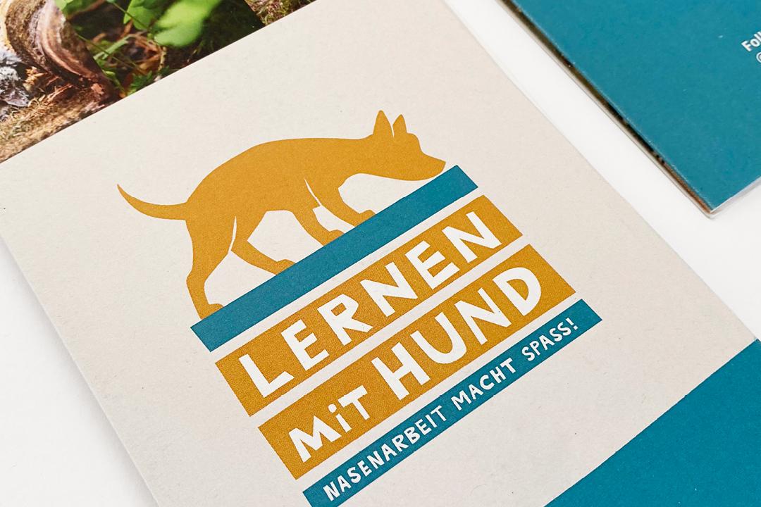 Lernen mit Hund // Logo